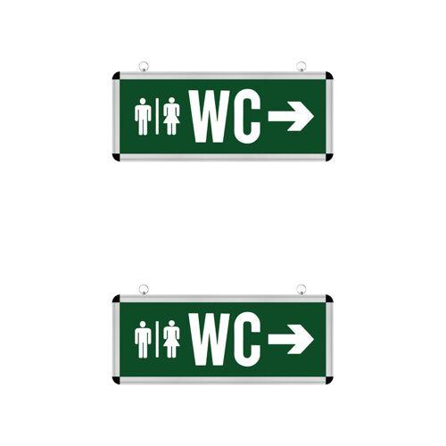 BES LED LED Noodverlichting 2 Pack - Rabonta WC - Hangend - 3W