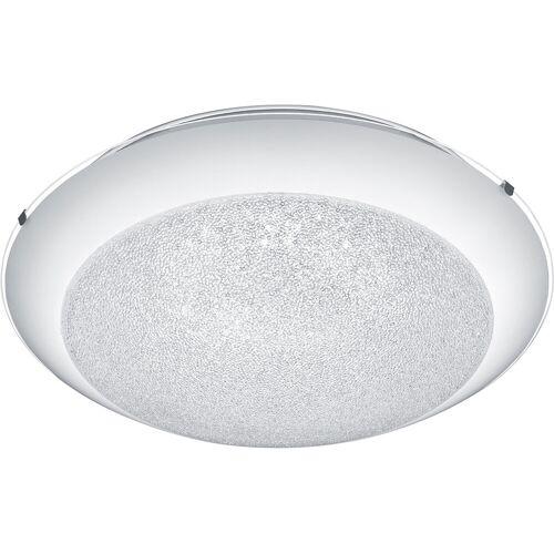 BES LED LED Plafondlamp - Plafondverlichting - Trion Pontino - 20W - Warm Wit 3000K - Rond - Mat Wit - Glas