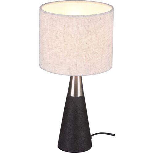 BES LED LED Tafellamp - Tafelverlichting - Trion Menpa - E14 Fitting - Rond - Beton - Beton