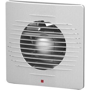 BES LED Badkamer - Toilet - Ventilator - 158mm - 12W - 100m3 - Mat Zilver