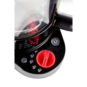Bodum BISTRO Dubbelwandig waterkoker met temperatuur regelaar, 1.1 l Zwart