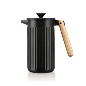 Bodum DOURO Porseleine Cafetière, 8 kops, 1.0 l Zwarte mat