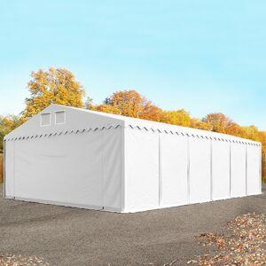 TOOLPORT Opslagtent 8x12m PVC 550 g/m² wit waterdicht Tenthal, Schuurtent