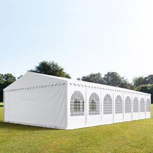 TOOLPORT Partytent 8x32m PVC 550 g/m² wit waterdicht Feesttent