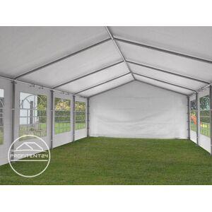 TOOLPORT Partytent 5x8m PE 180g/m² wit waterdicht Feesttent