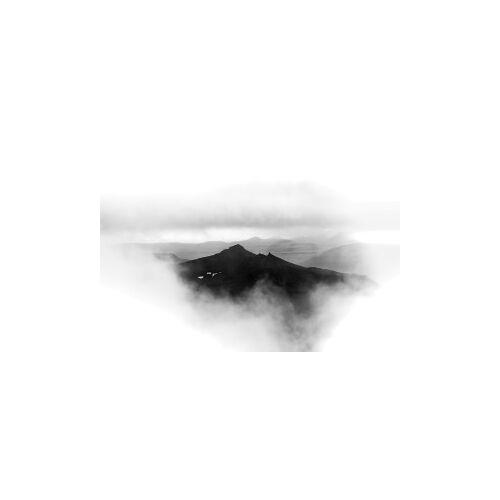 ART Get Art Wolken bergtop kunstfotografie 74x74 Dibond digitaal