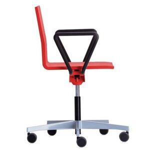 Vitra .04 bureaustoel rood