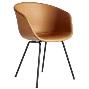 Hay AAC27 gestoffeerde stoel zwart onderstel Silk SIL0250