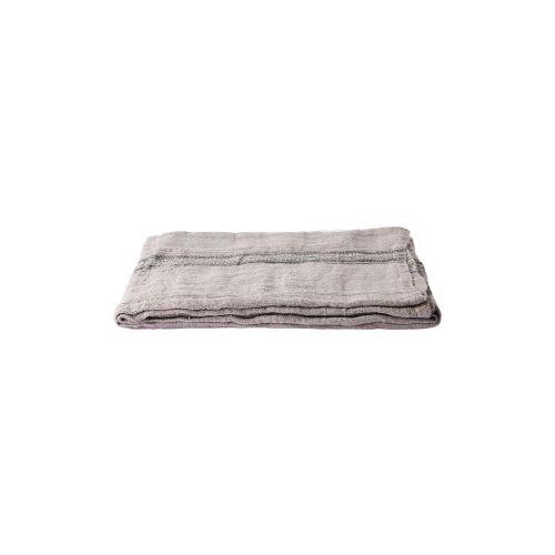 HKliving Linen tafelkleed 140x220 natural striped