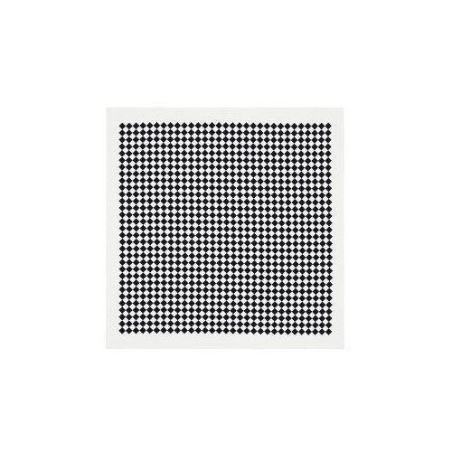 Vitra Square Checker tafelkleed zwart