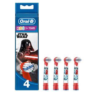 Oral-B Kids' Opzetborstels Met Star Wars-figuren, Verpakking Van 4