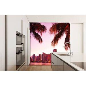 Wallgroup BV Fotobehang Skyline van Miami
