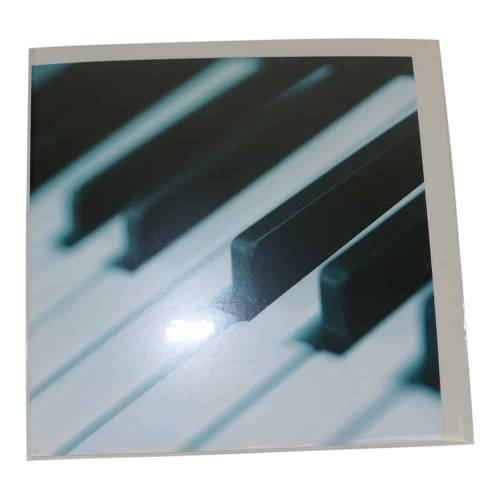 Spiru Wenskaart Blanco Piano (Set van 6)