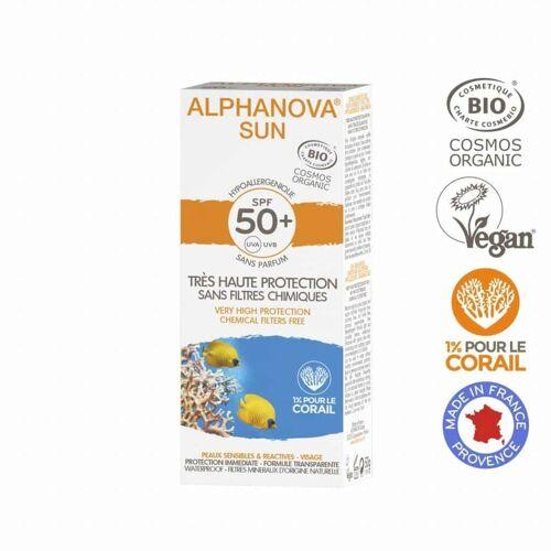 Spiru Alphanova SUN BIO SPF 50 voor de Allergische Gevoelige Huid - Waterproof