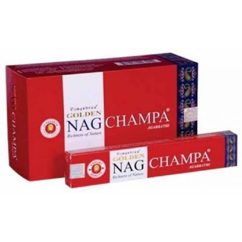 Spiru Golden Nag Wierook Nag Champa (12 pakjes)