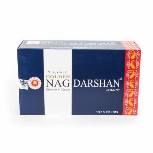 Spiru Golden Nag Wierook Darshan (12 pakjes)