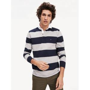 Tommy Hilfiger Tommy Icon rugbyshirt met logotape