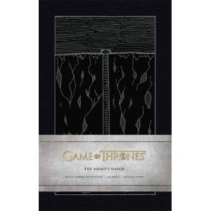 Cjay Game of Thrones Hardcover Ruled Journal The Night's Watch