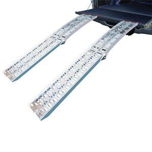 Pro+ Oprijplaat aluminium vouwbaar 220x28cm 340kg (prijs per stuk)