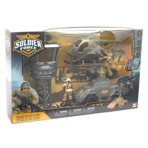 Top1Toys Soldier Force Verdediging Buitenpost Speelset