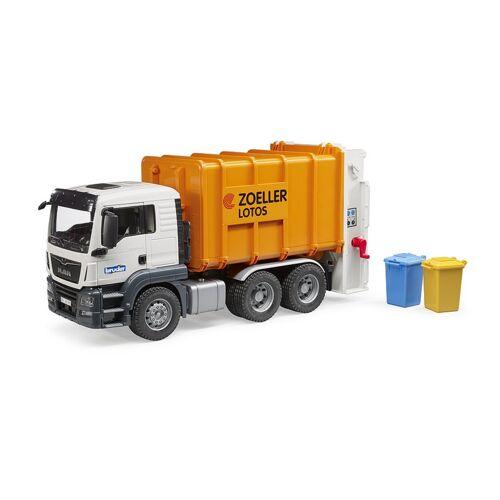 Bruder Auto Vrachtwagen MAN Vuilniswagen