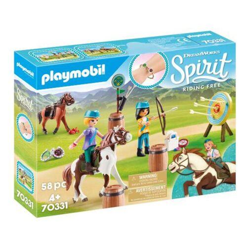 Playmobil 70331 Spirit Boogschieten Te Paard