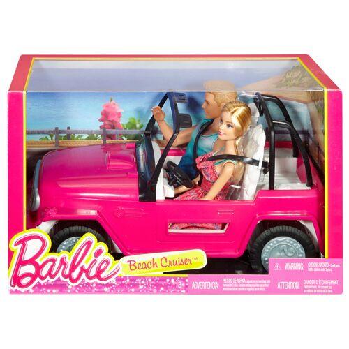 Mattel Barbie Beach Cruiser Met Barbie En Ken