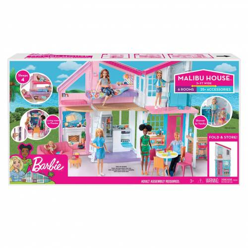 Mattel Barbie Malibuhuis