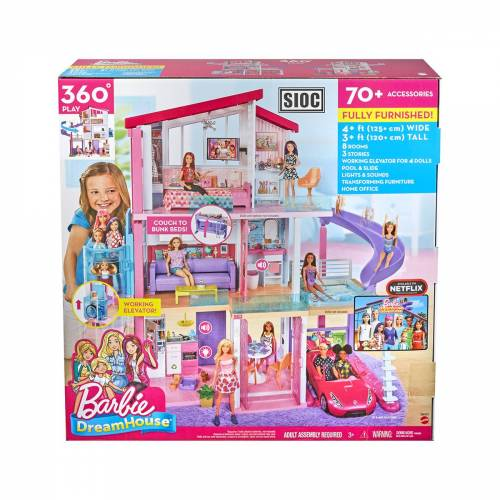 Mattel Barbie Droomhuis met Lift