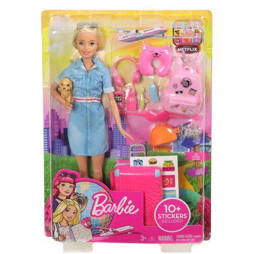 Mattel Barbie Dreamhouse Barbie Gaat Op Reis Pop
