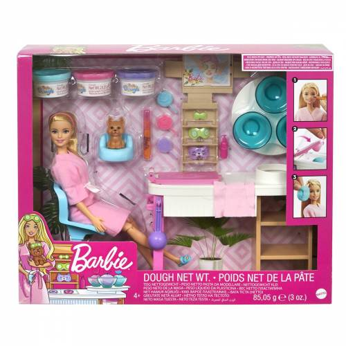 Mattel Barbie Gezichtsmasker Spadagje Speelset