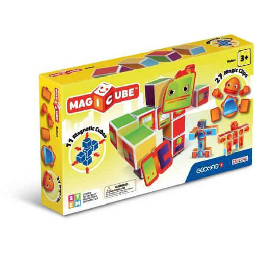 Top1Toys Geomag Magicube Robot