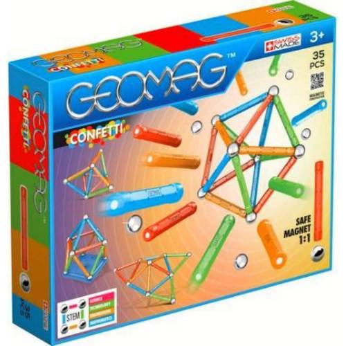 Top1Toys Geomag Confetti Target