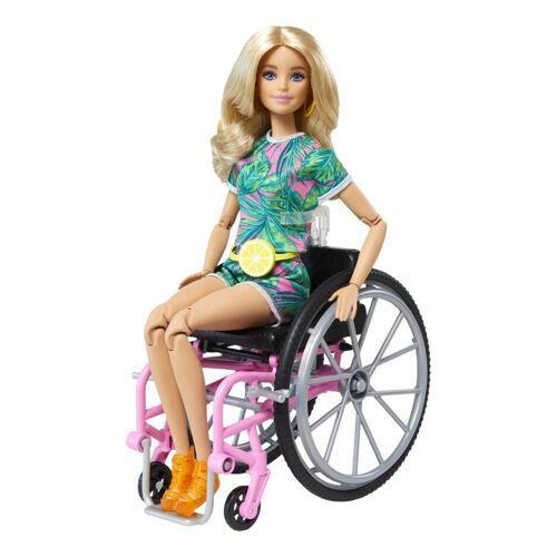 Mattel Barbie Fashionista En Rolstoel blond