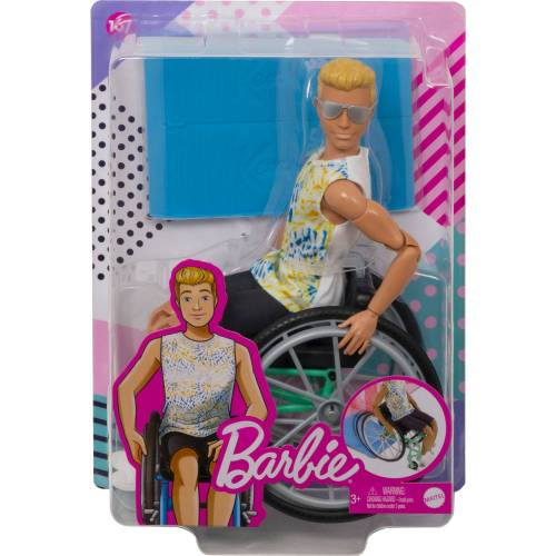Mattel Ken Fashionista Rolstoel