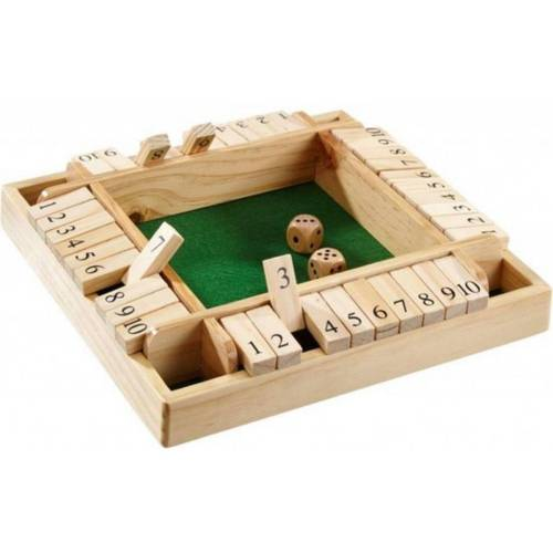Top1Toys Spel Shut The Box 4 Spelers