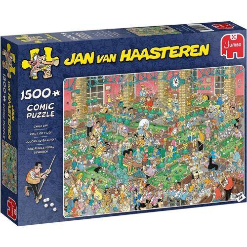 Jumbo Jan Van Haasteren Puzzel Krijt Op Tijd 1500 Stukje