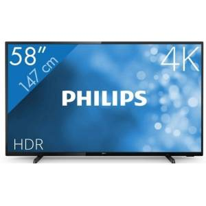 Philips 58PUS6504 - LED tv - 58 inch - 4K (UHD) - Smart tv