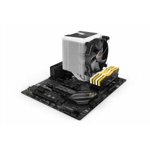 BE QUIET! Shadow Rock 3 White - Koeler voor processor - 190W TDP - 120 mm PWM fan - Intel 1200, 2066, 1150, 1151, 1144, 2011(-3), AMD AM4, AM3+ - wit, zwart