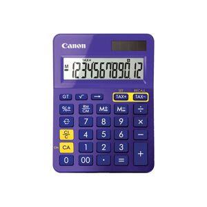 Canon LS-123K - Bureaurekenmachine - 12 cijfers - zonnepaneel, batterij - paars