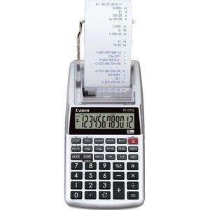 Canon P1-DTSC II - Printrekenmachine - LCD - 12 cijfers - batterij - zilver