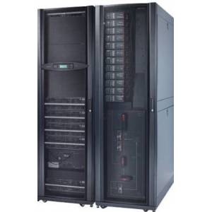 APC Symmetra PX 64kW Scalable to 160kW with Integrated Modular Distribution - UPS - 400 Volt wisselstroom V - 64 kW - 64000 VA - 3-fase - uitgangen: 1
