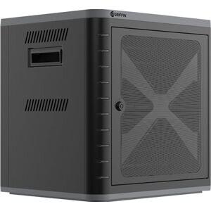 INCIPIO Griffin Multidock 3 - Kabineteenheid voor 10 tablets / mobiele telefoons - vergrendelbaar - zwart - uitgang: 5 V