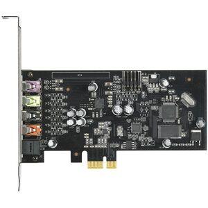 Asus XONAR SE - Geluidskaart - 24-bits - 192 kHz - 116 dB SNR (Signal-To-Noise Ratio, signaal-ruis verhouding) - 5.1 - PCIe