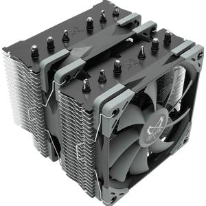 SCYTHE Fuma 2 - Koeler voor processor - 2 x 120 mm - PWM - Intel LGA775, 115x, 1366, 2011, 2066, AMD Socket AM2(+), AM3(+), AM4, FM1, FM2(+)