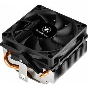 Silverstone SST-KR01 - Koeler voor processor - 80 mm - PWM - AMD Socket AM2/AM3/AM4/FM1/FM2 - zwart