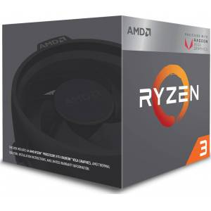 AMD Ryzen 3 2200G - Processor - 3.5 GHz - 4 cores - 4 threads - 4 MB cache - AM4 socket