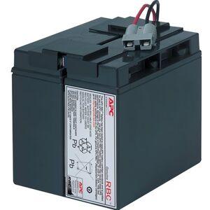 APC Replacement Battery Cartridge #7 - UPS-batterij - 1 x Loodzuur - zwart - voor P/N: SMT1500, SMT1500I, SMT1500TW, SMT1500US, SU1400I, SU700XLI, SUA1500ICH-45, SUVS1400I