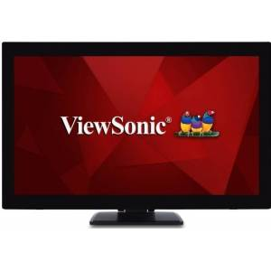 """ViewSonic TD2760 - LED-Monitor - Touch 27"""" VA - 1920x1080 Full HD - 60 Hz - 6 ms - 230 cd/m² met touch 300 cd/m² zonder touch"""