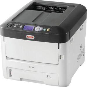 Oki C712n - Printer - kleur - LED - A4 - 1200 x 600 dpi - tot 36 ppm (mono) / tot 34 ppm (kleur) -capaciteit: 630 vellen